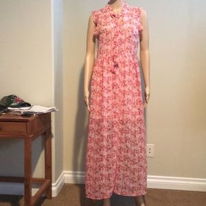 Anthropologie Band of Gypsies midi dress